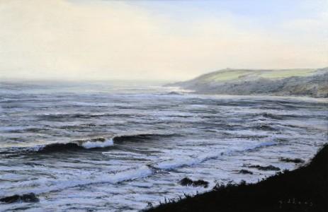 Changing Light,Kennnegy Bay(600mm x 900mm)
