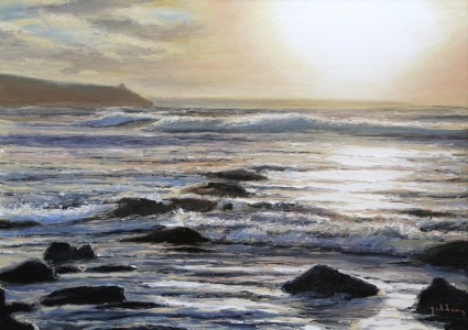 WInter Sunrise,Praa Sands(500mm x 700mm)